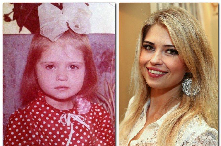 Jolanta Leonavičiūtė vaikystėje ir dabar
