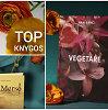 """Gegužės knygų TOP 5: nuo sukrečiančios """"Vegetarės"""" iki naujo J.Irvingo romano ar atsakymo A.Camus"""