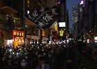 Pusmečio sukaktį Honkongo protestuotojai paminėjo didžiuliu mitingu