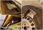 Muitininkų rentgenas atskleidė visas cigarečių slėptuves: VW durelėse, rate, po apdaila