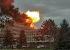 Liono universitete sprogo dujų balionai ir kilo gaisras