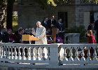 Popiežius Estijoje perspėja dėl galios demonstravimo ir ginklavimosi pavojų