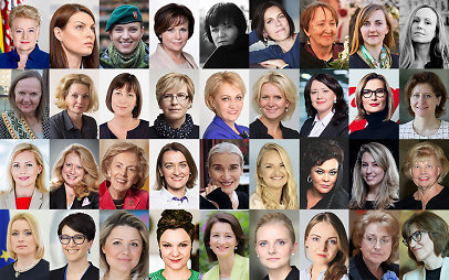 """100 Lietuvos moterų"""
