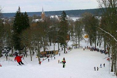 Slidinėjimas Lietuvoje