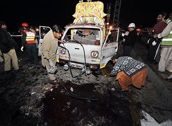 Teroro aktai Pakistane