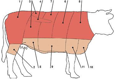 Laboratorijoje užauginta mėsa
