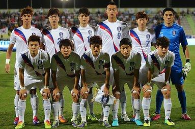 Pietų Korėjos futbolo rinktinė