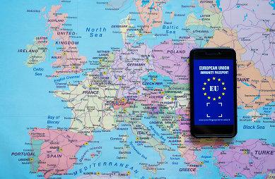 ES skaitmeninis COVID pažymėjimas