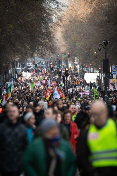Protestas Paryžiuje