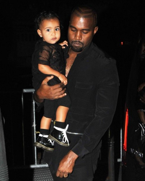 Kanye Westas su dukra North