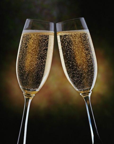 Naujametinis šampanas