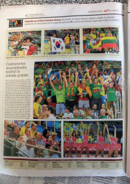 Laikraščiai Gran Kanarijoje