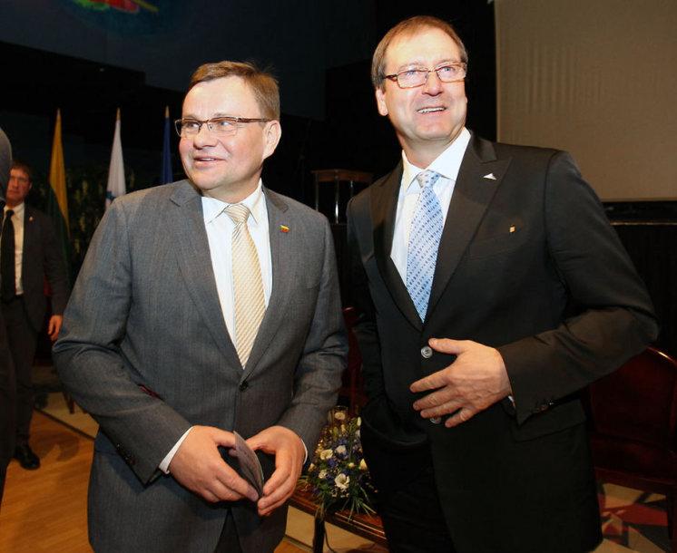 Vydas Gedvilas ir Viktoras Uspaskichas