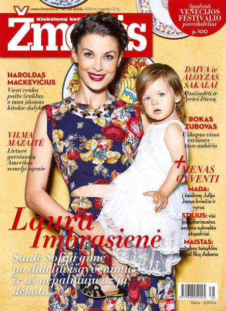 Laura Imbrasienė su dukra Saule Sofija