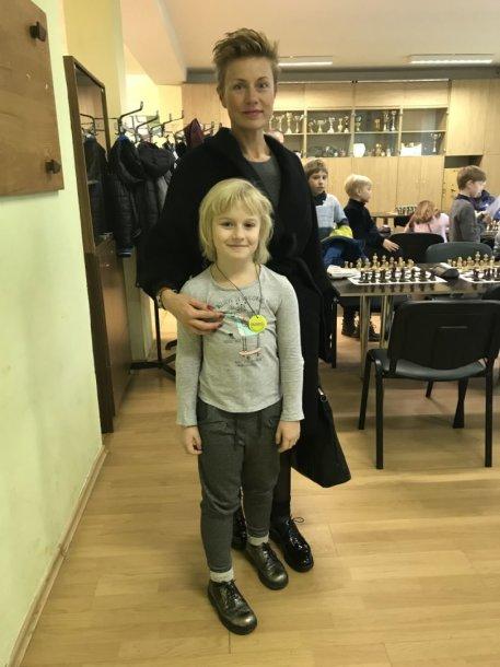 R. Milašauskaitė su dukra