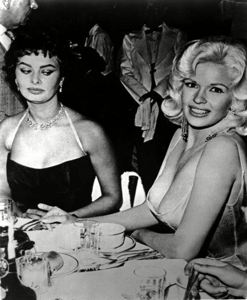 Sophia Loren ir Jayne Mansfield (1957 m.)