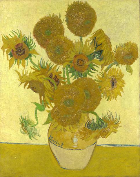 "Vincent van Gogh ""Saulėgrąžos"" (1888)"