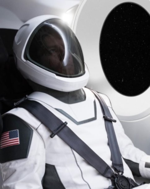 """SpaceX"" apranga astronautams"