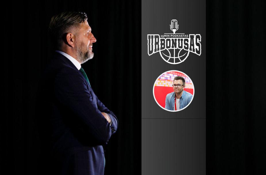 """D.Maskoliūnas """"urBONUSe"""" pasakoja apie įdomų trenerio kelią"""