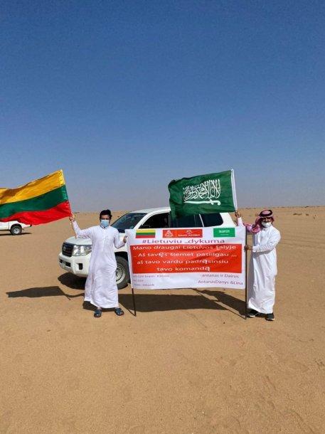 Saudo Arabijos gyventojai palaiko lietuvius