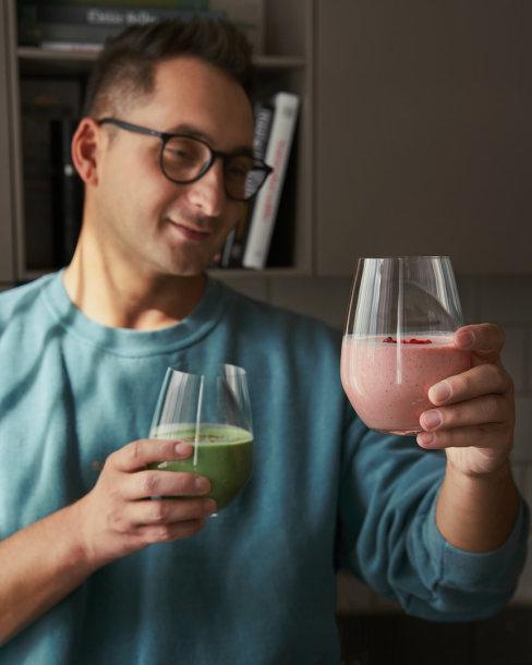 O.Gasanovo jėgų šaltinis – kefyras: dalijasi savo kokteilių receptais