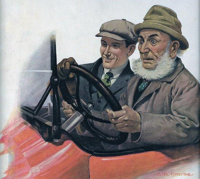 1920-ųjų iliustracija. (Leslie-Judge Company, Wikimedia)