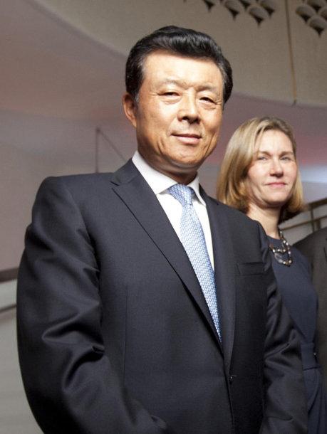 Kinijos ambasadorius Didžiojoje Britanijoje Liu Xiaomingas