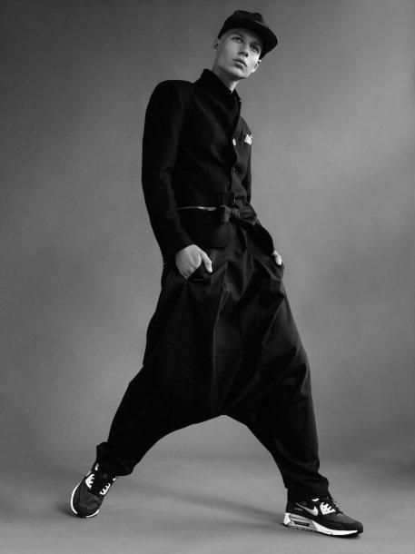 Lilijos Larionovos kolekcijos modelis
