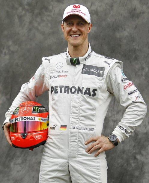 Michaelis Schumacheris švenčia 45-ąjį gimtadienį