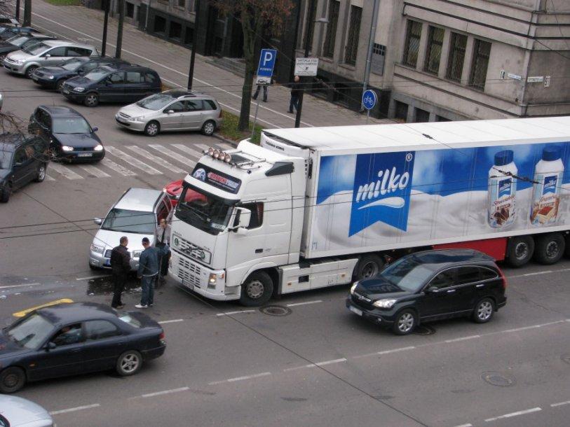 Avarija Kauno centre