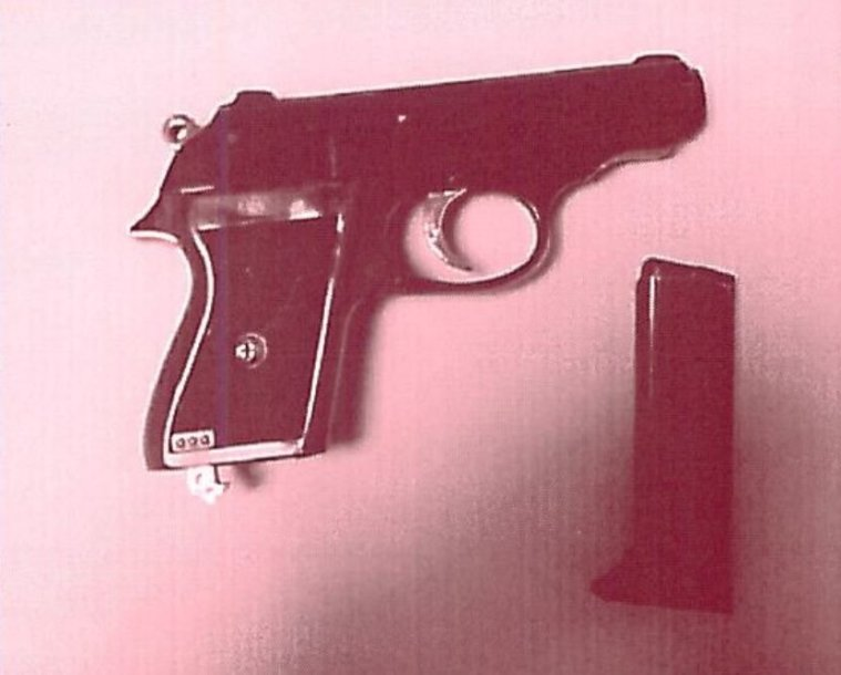 Rastas pistoletas