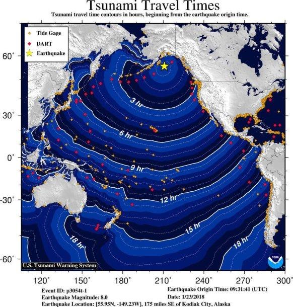 Žemės drebėjimas Aliaskoje