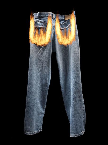 Degančios kelnės