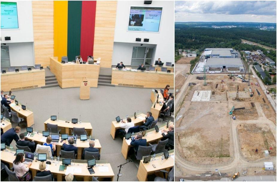 Seime - klausimas dėl atliekų deginimo jėgainių