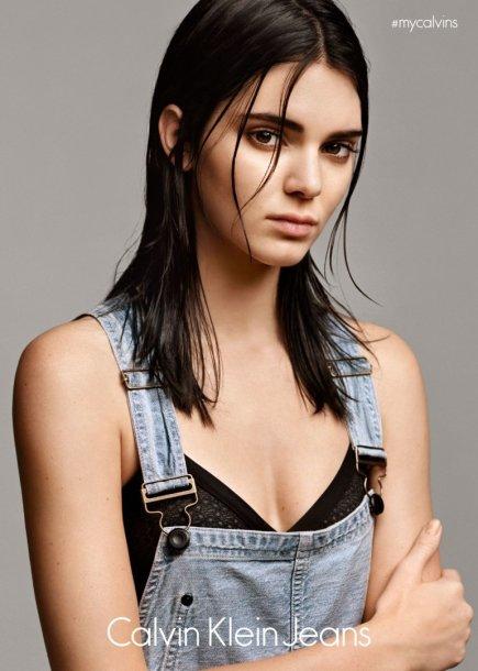 "Kendall Jenner - naujasis ""Calvin Klein Jeans"" veidas"