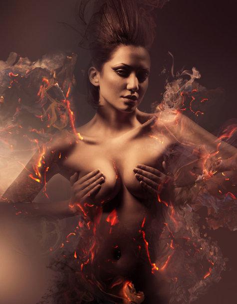 Asociatyvinė nuotrauka – moters kūnas