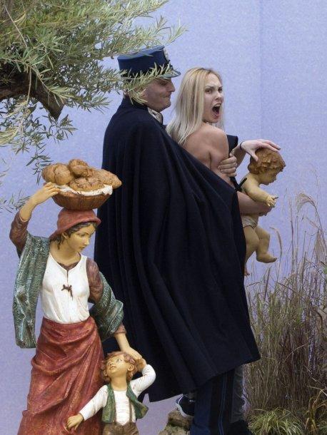 """Femen"" aktyvistė"