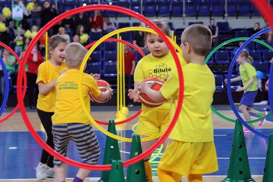 Vasarį startavo Lietuvos mažųjų žaidynės.