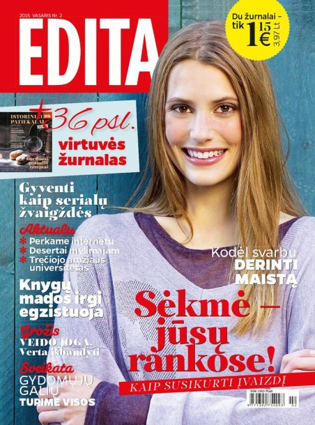 "Vasario mėnesio ""Edita"""
