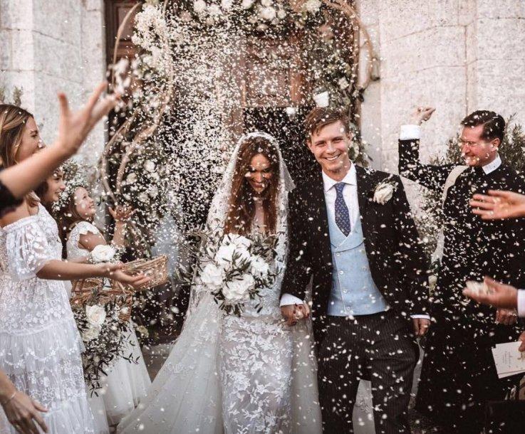 Maxo Sangsterio ir Eveie Longdon vestuvės Ibisoje