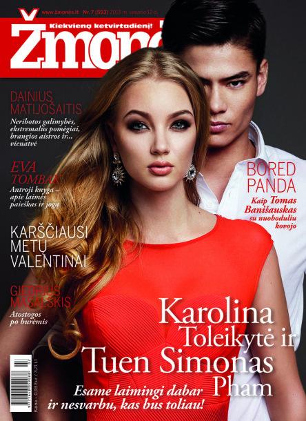 Karolina Toleikytė ir Tuen Simonas Pham