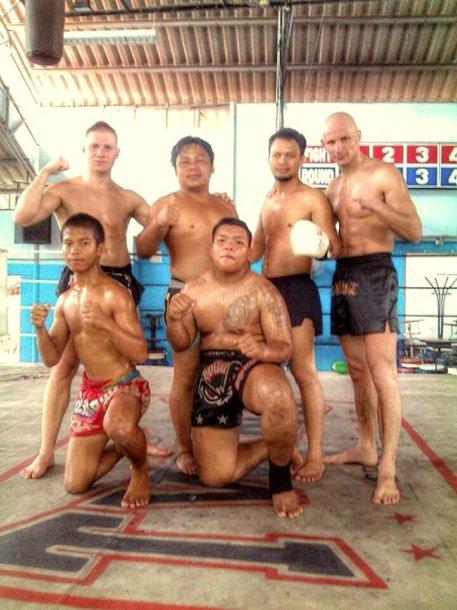 Lietuvos Muaythai atstovai Tailande