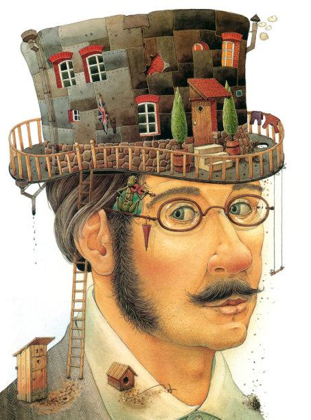 Dailininko Kęstučio Kasparavičiaus iliustr.