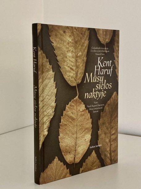 """Kento Harufo knyga """"Mūsų sielos naktyje"""""""