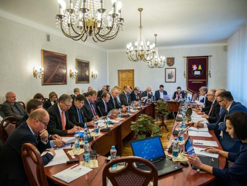 Lietuvos universitetų rektorių konferencijos posėdis