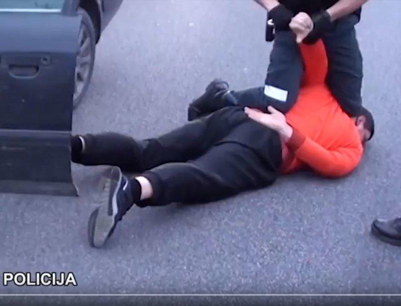 Sulaikymo operacijos momentas