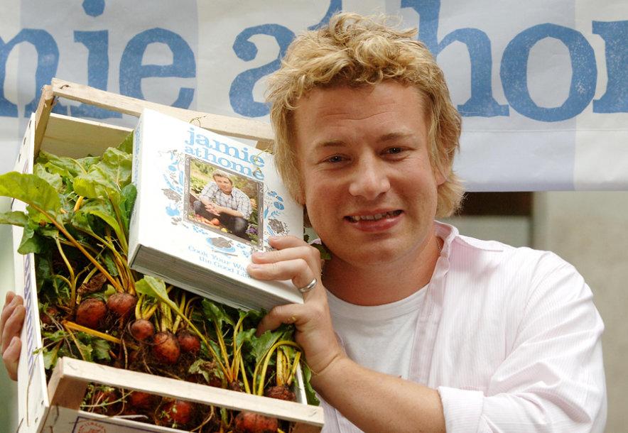 Virtuvės šefas Jamie Oliveris