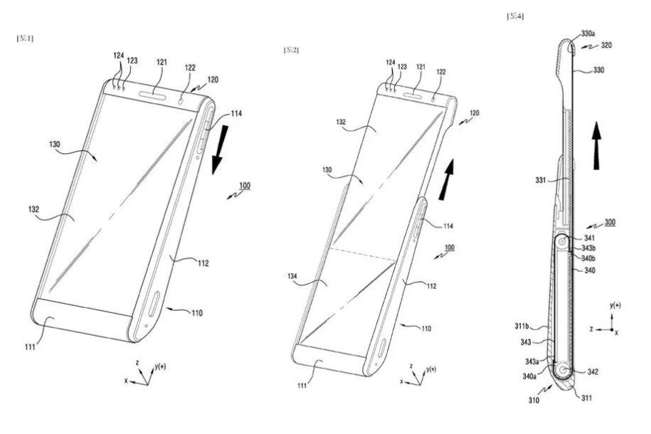 """""""Samsung"""" telefono su išvyniojamu ekranu patentas"""