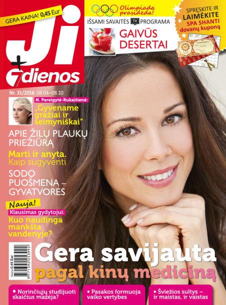 """Žurnalas """"Ji + 7 dienos"""" (31 nr.)"""