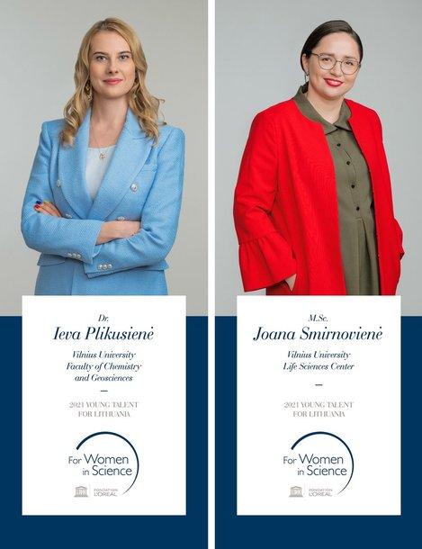 Ieva Plikusienė ir Joana Smirnovienė